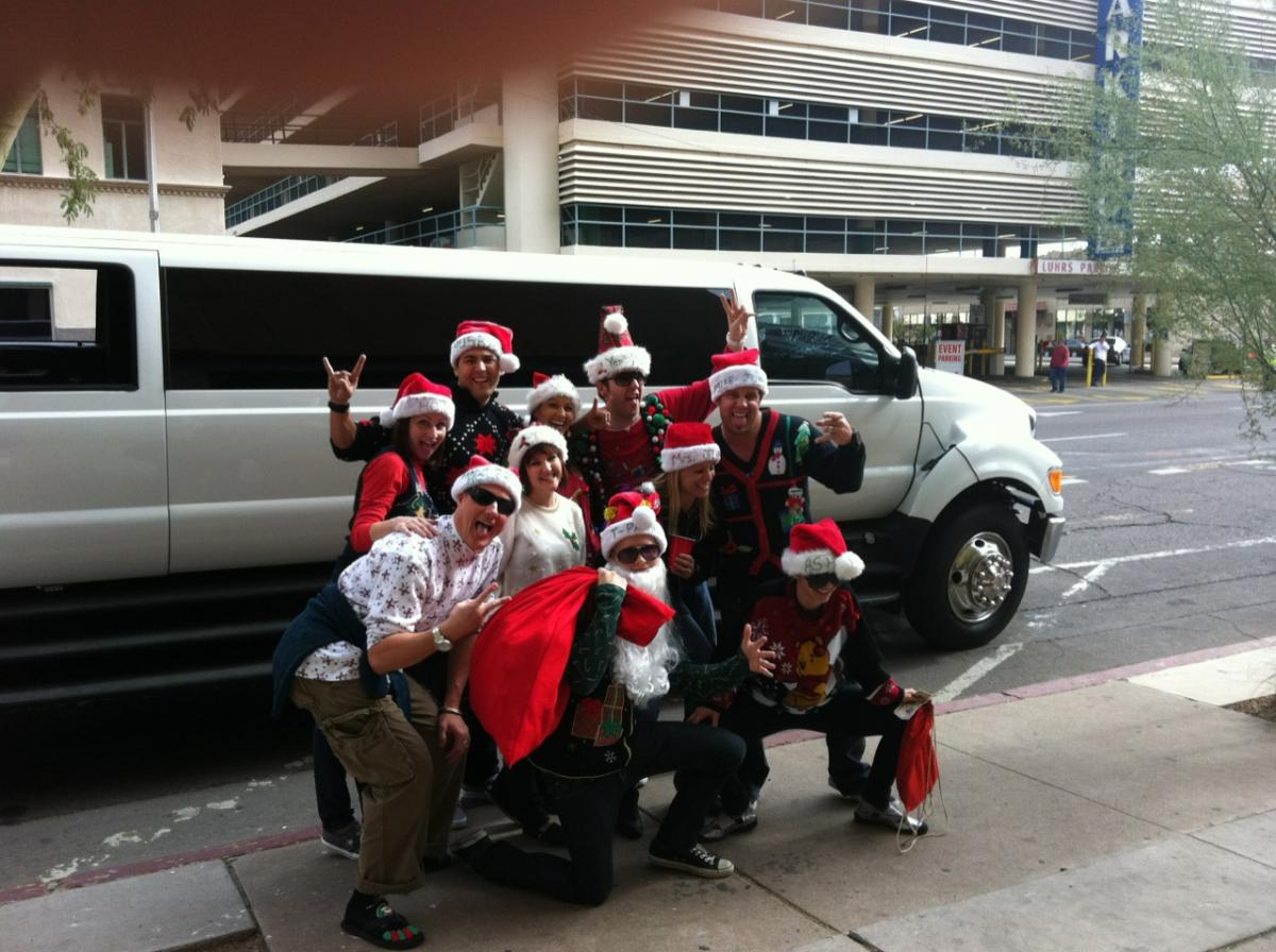 Enjoy Your Transportation To The Christmas Party